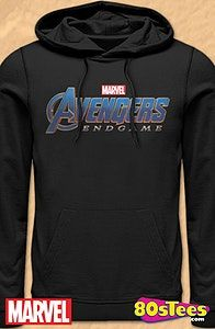fb8a502b8775 Avengers Endgame Hoodie Geeks: This men's hoodie features great art, design  and illustration of the logo for the upcoming Avengers: Endgame film which  is to ...