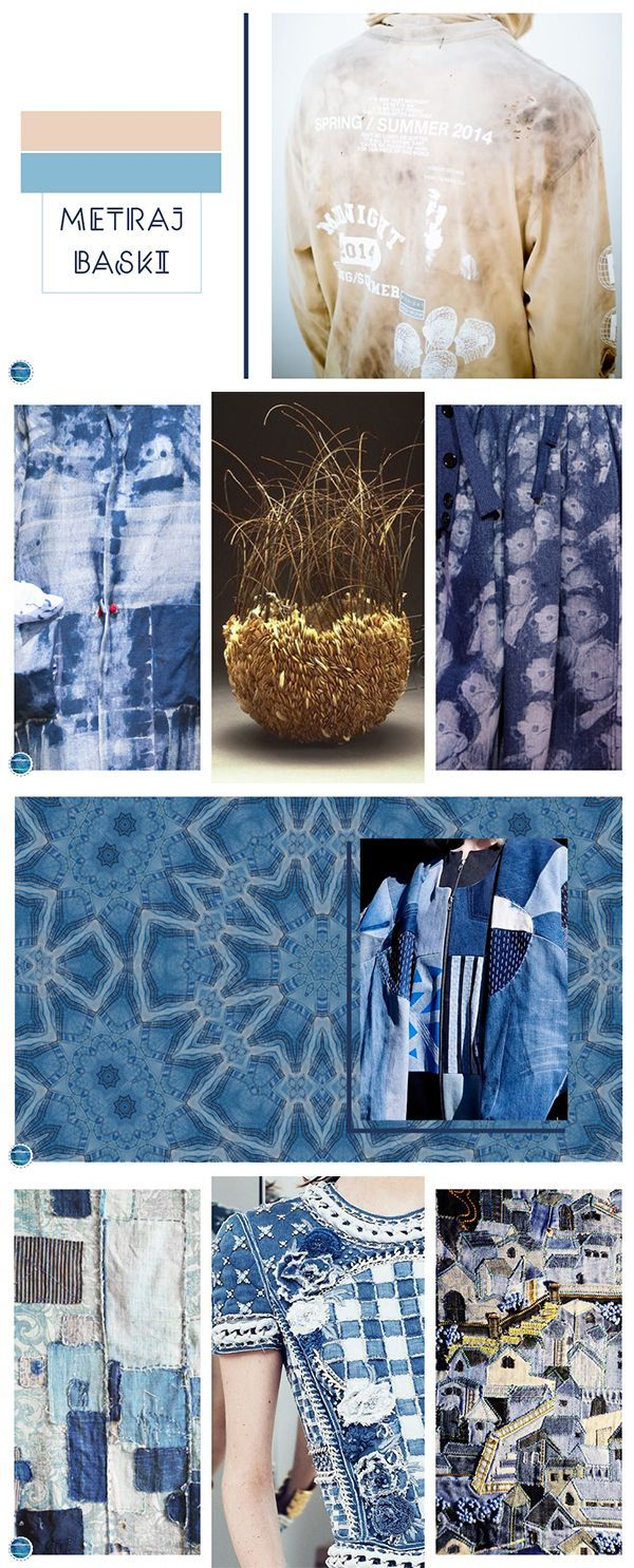 All tones of blue are warm in Mediterranean. Go on a cosy trip with Mediterranean Morning theme. #colors #blue #moodboard #onlinelaleli