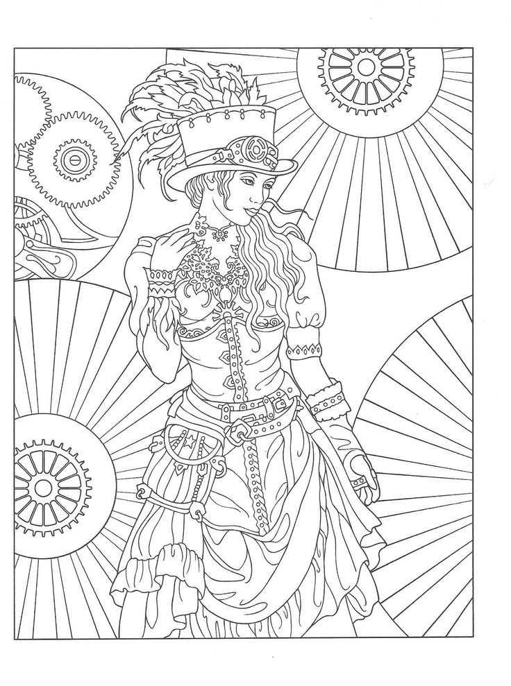 642 best coloriages girly images on Pinterest