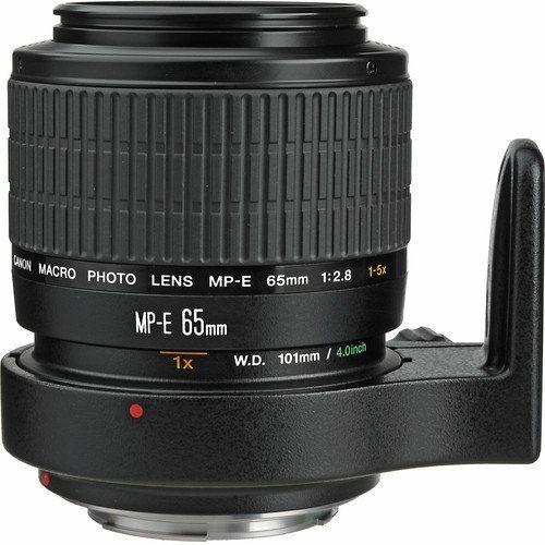 Canon MP-E 65mm f/2.8 1-5x Macro Photo Lens-Canon