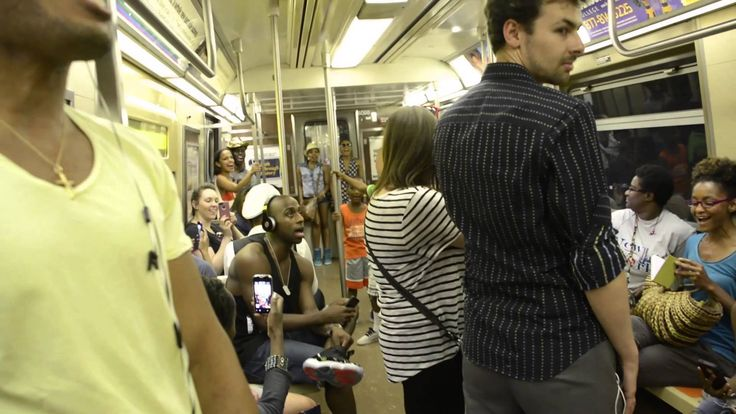 'The Lion King' Broadway Musical Cast Take Over NYC Subway Train http://www.visiontimes.com/2014/08/28/lion-king-actors-sing-on-ny-subway.html