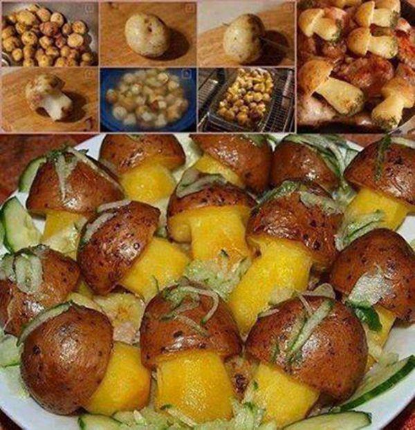NapadyNavody.sk | Hríbiky z pečených zemiakov