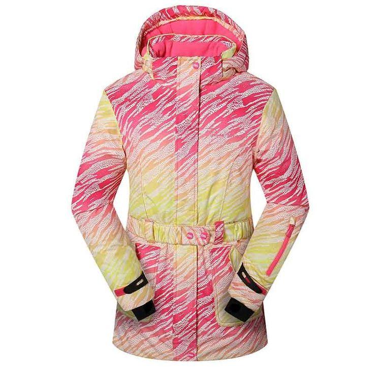 Detector Women Ski Jackets High Quality Winter Waterproof Windproof Warm Snowboard Clothing