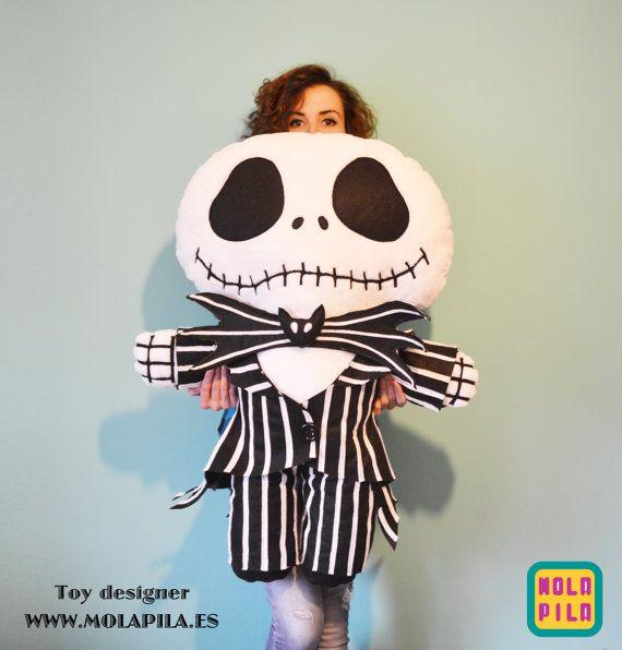 Jack Skeleton. 1 metro. por MOLAPILA en Etsy