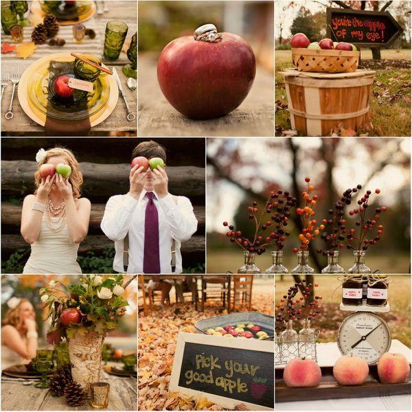 {Wedding Trends} Apple Themed Wedding Inspiration