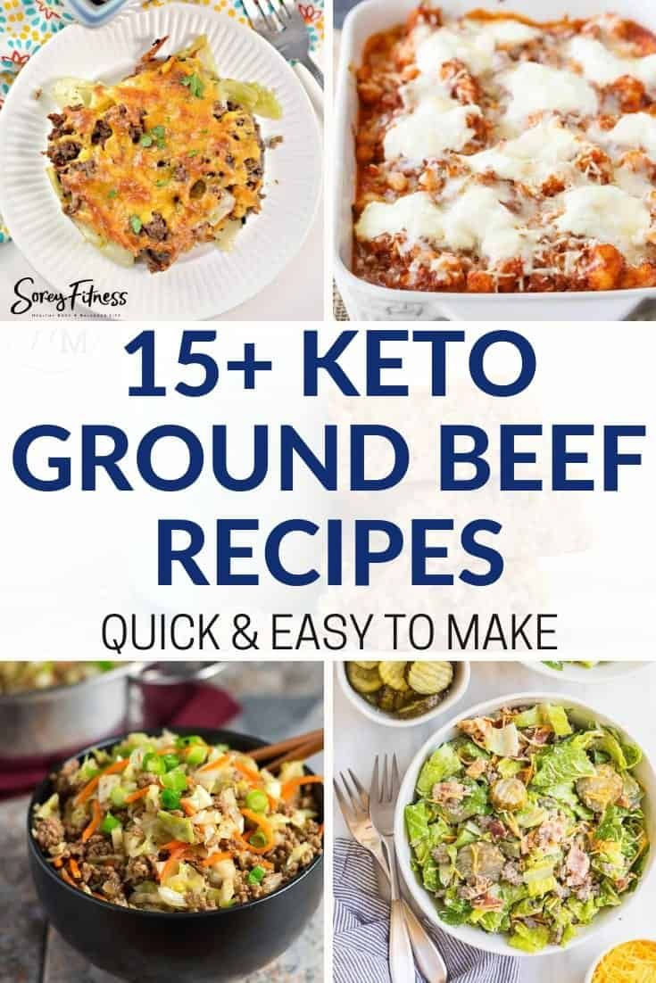 15 Easy Keto Ground Beef Recipes Pinterest Worthy Low Carb Recipes Beef Recipes Ground Beef Recipes Recipes