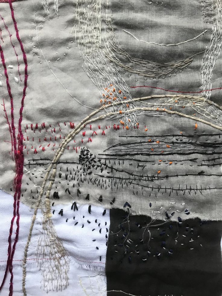 Detail from Fragments by Stephanie Fujii