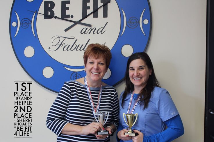 Our 1st 2nd place winners of our 6 week be fit 4 life