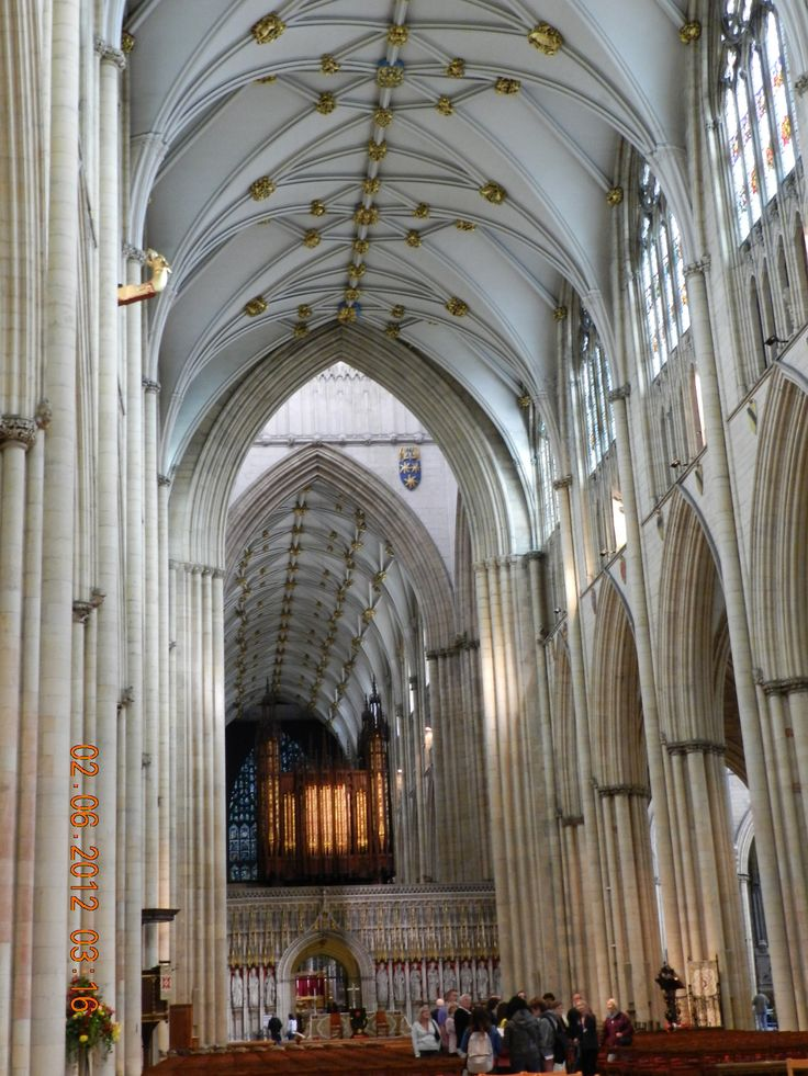 inside cathedral in York its amazing