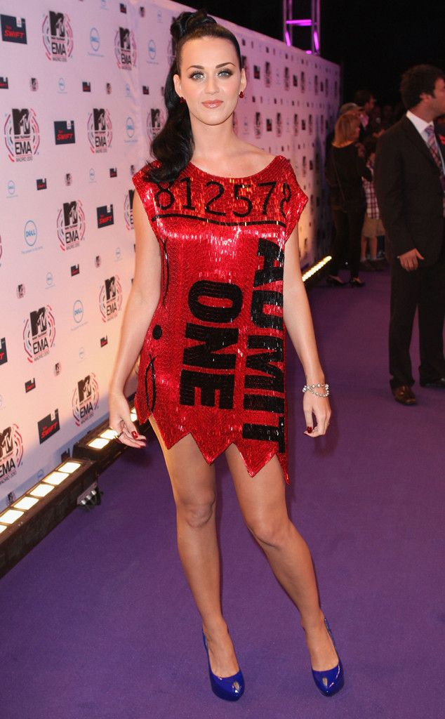 Ticket For One from Katy Perry's Best Looks | E! Online