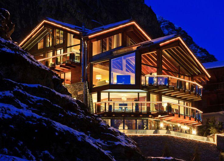 Luxury Swiss #chalet
