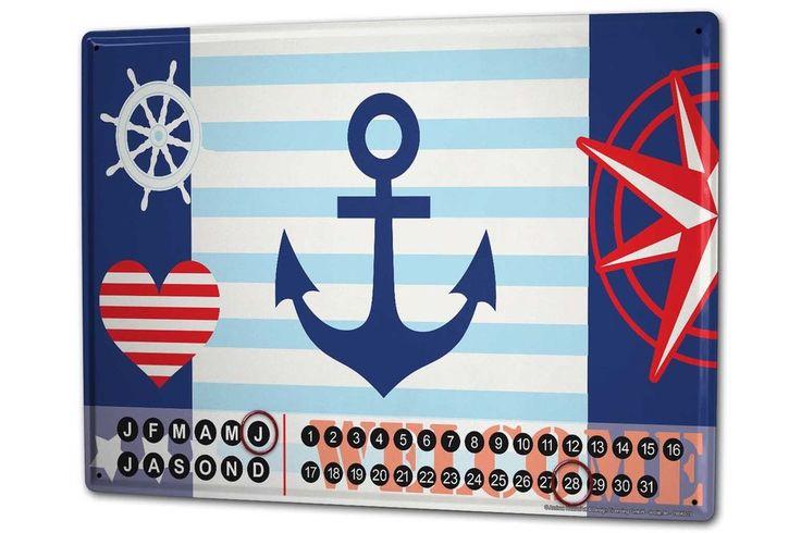 Calendario perpetuo Oceani Benvenuto Magnetico