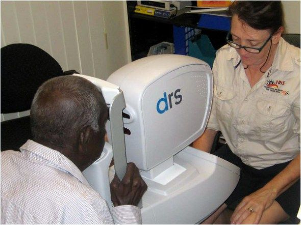 We've been working to set up a remote eye screening service on the Torres Strait Islands, giving hundreds of people access to specialist eye care.
