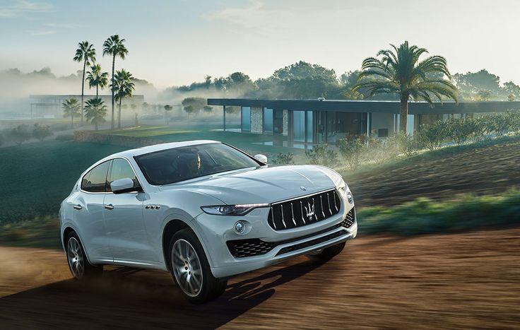 Maserati Levante SUV véhicule tout terrain