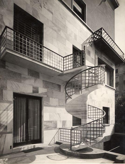 Casa Corbellini-Wassermann Milano, Piero Portaluppi, 1936