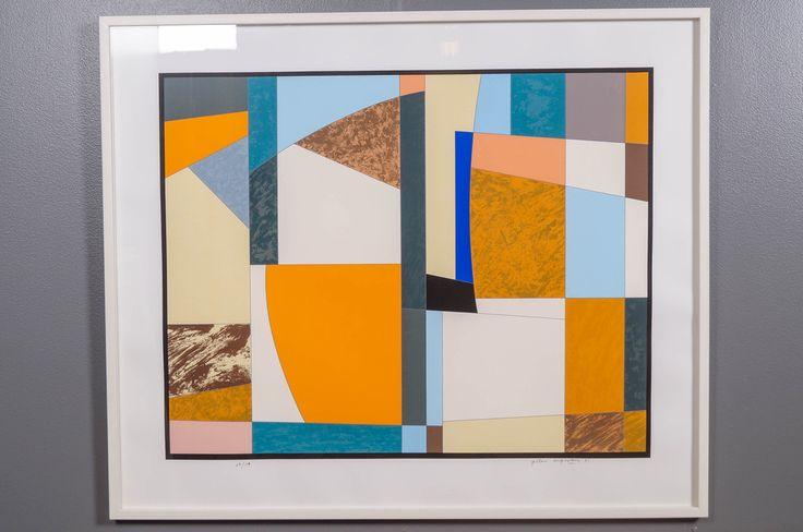 Göran Augustson, 1991, serigrafia, 78x99 cm, edition 67/100 - Huutokauppa Helander 05/2015