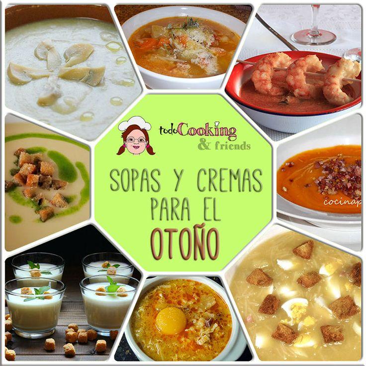 8 sopas y cremas para el Otoño #todocooking #receta #sopa #crema