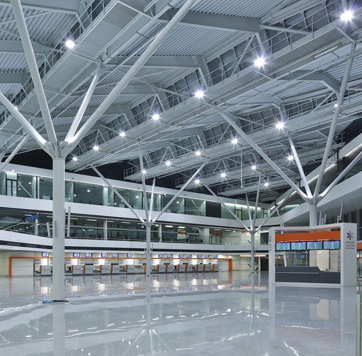 Estudio Lamela: remodelación de la T1 del aeropuerto de Varsovia