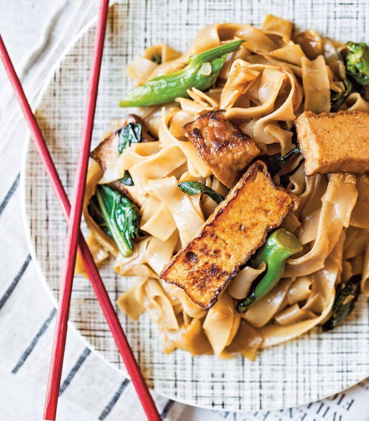 Tofu Pad See Ew [Vegan]