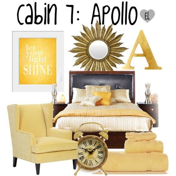 Cabin Apollo -- Percy Jackson u0026 the Olympians by evil-laugh onu2026  sc 1 st  Pinterest & 39 best Percy Jackson house ideas images on Pinterest | Jackson ...