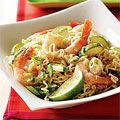 Coconut Curry Shrimp with Ramen Noodles, oh so easy