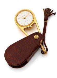 Cartier a Fine Gold Plated Purse Watch