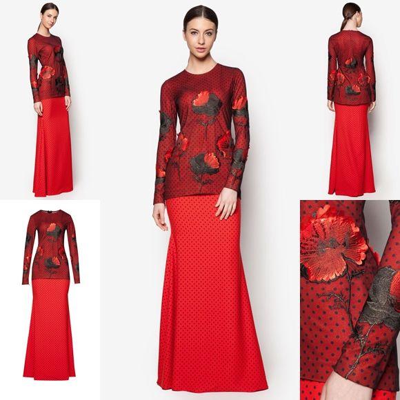 Fesyen Trend Terkini Bianco Mimosa Supernova Baju Kurung Moden Baju Raya 2017
