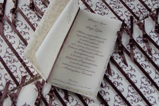 PRAMON CARD / wedding invitation card