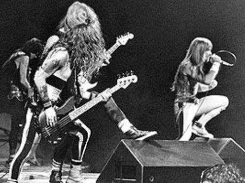 iron maiden band images | Musicólatras: Iron Maiden no Rock in Rio 1 (1985): o histórico e ...