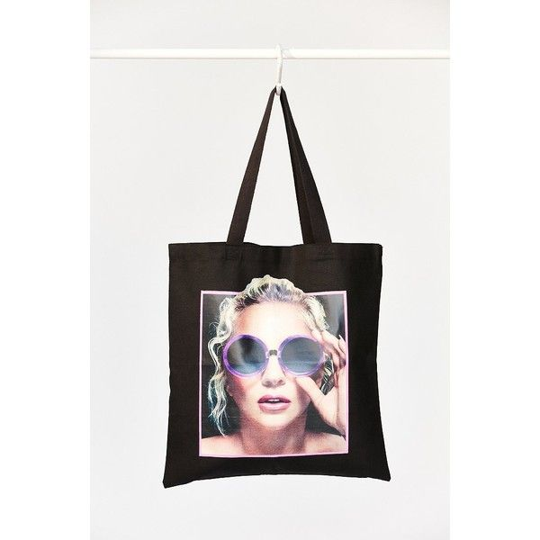 Lady Gaga Joanne Tote Bag (37 PLN) ❤ liked on Polyvore featuring bags, handbags, tote bags, urban outfitters handbags, tote purses, urban outfitters tote bag, white tote handbags and urban outfitters tote