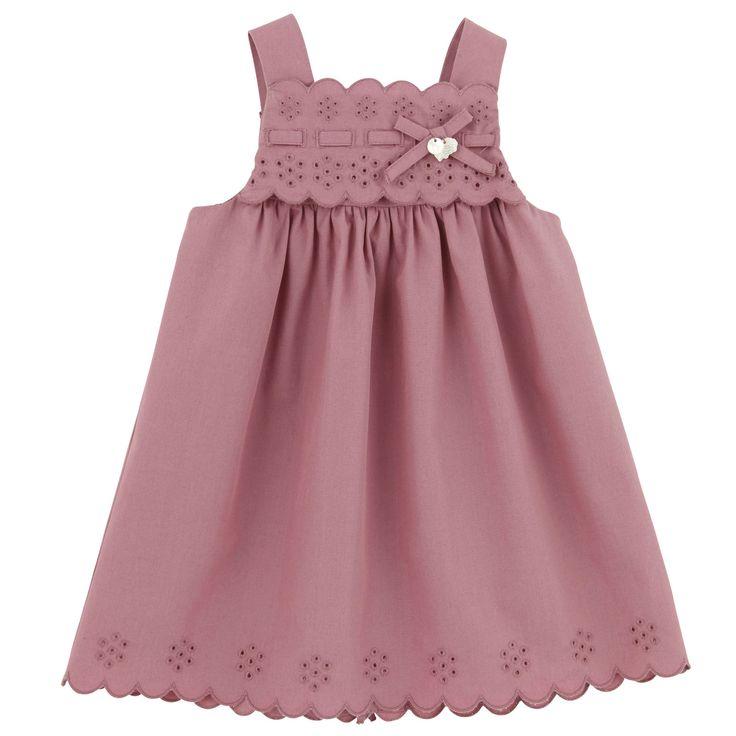 Tartine et Chocolat Sienna pink poplin dress | Melijoe.com