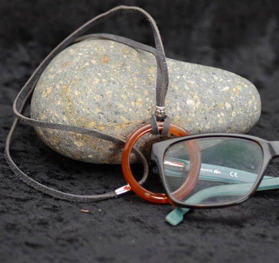 Eyeglass Holder Necklace Magnetic Clasp Lanyard Men S Glass