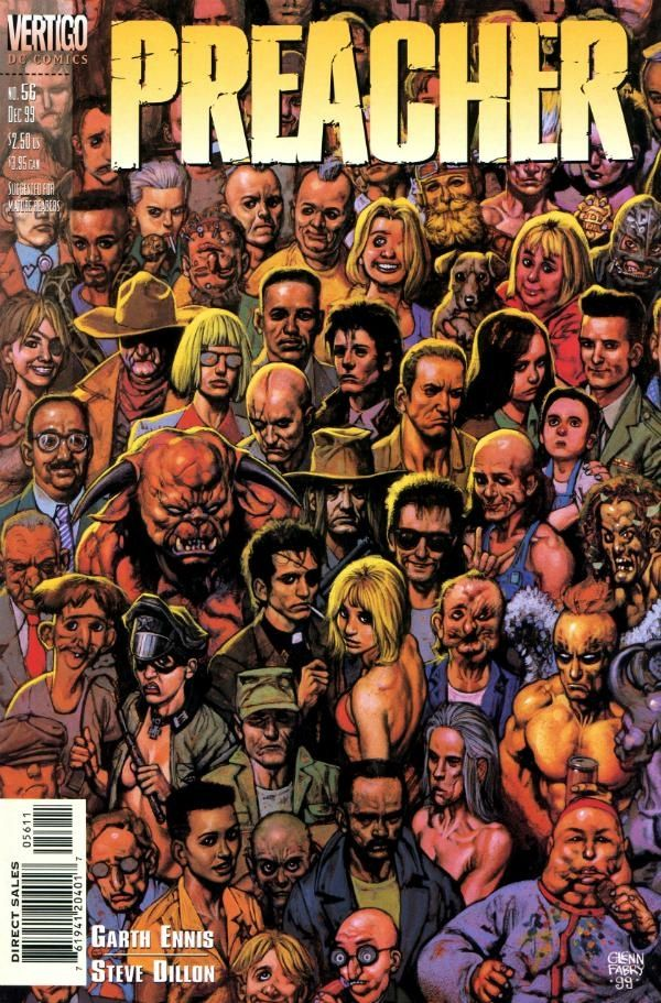 Image result for preacher comic poster
