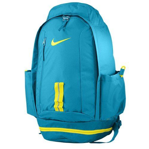 Nike KD Fastbreak Backpack Basketball Accessories Tropical Teal/Sonic Yellow