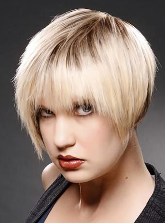 style of hair cut pin by j a on hairstyles razored bob 5288