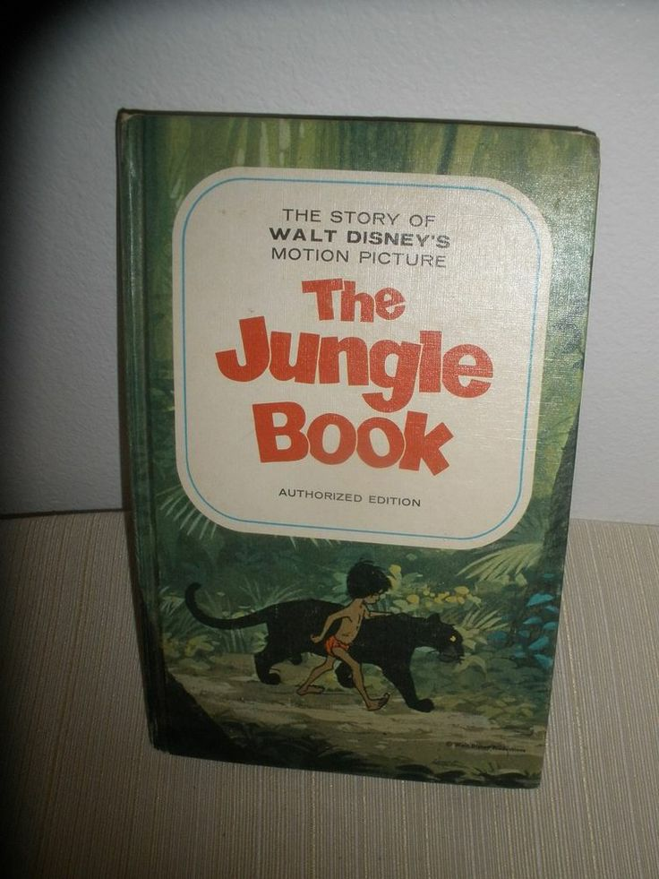 Vintage1967 The Story of Walt Disneys Jungle Book Hardcover Retold by Mary Carey