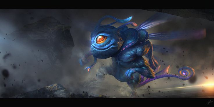 Hero from the game Defense of the Ancients, Dota 2.