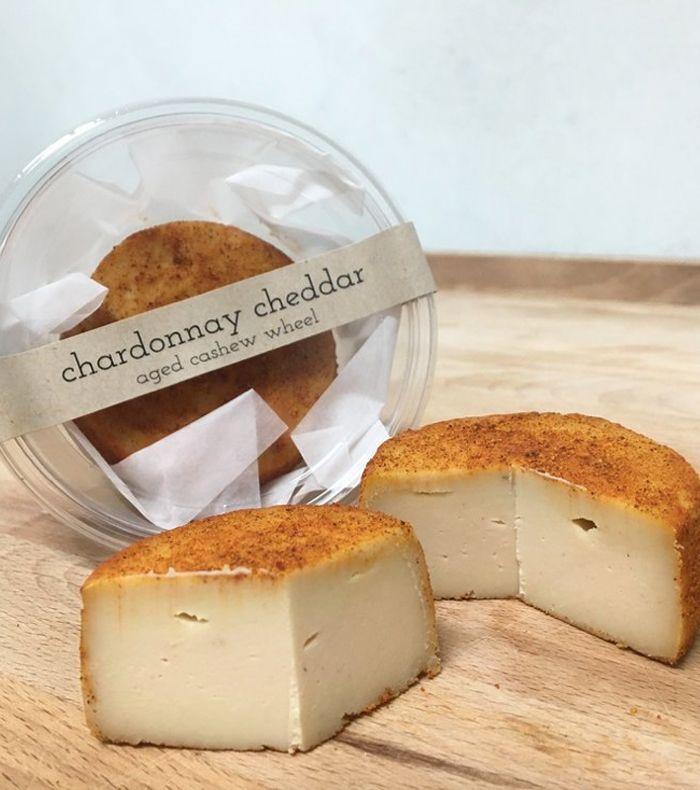 Blode Kuh Aged Cashew Wheel Best Vegan Cheese Vegan Cheese Dessert Bar Recipe