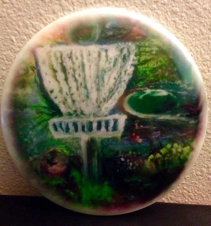 New Limited Edition Disc Golf Scene Discs by HeatherCallihanArt on Etsy https://www.etsy.com/listing/215476332/new-limited-edition-disc-golf-scene