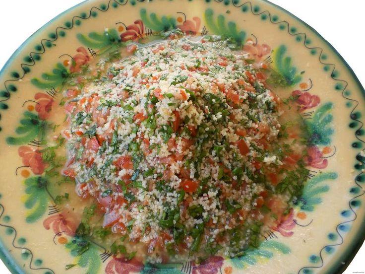 Tabbouleh, ensalada de perejil