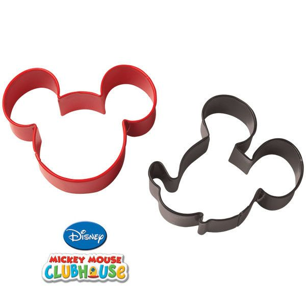 Mickey Mouse Cookie Cutter Set 2/Pkg • Make the cutest cookies for your celebration with these great shapes!