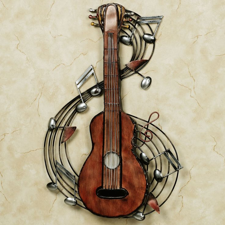 kithara metal wall theme musique instrument de musique on metal wall art id=55579