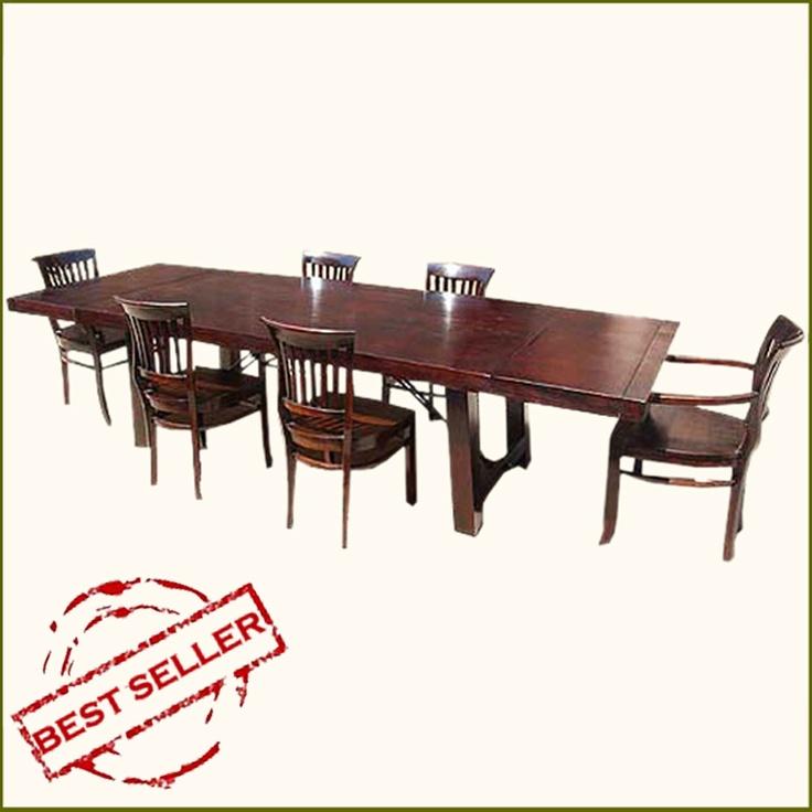 Rustic Mission Santa Cruz Solid Wood Dining Room Set For 4: 74 Best Dine In Style Images On Pinterest