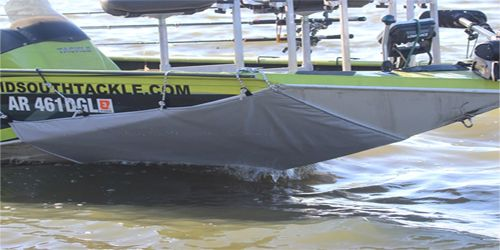 The Silent Stalker – This product can eliminate the noise created by wave action against the side of your boat as you troll into the wind. This noise spooks most game fish. If you fish within close proximity to the boat, even in slightly windy conditions the silent stalker can eliminate this fish spooking noise.