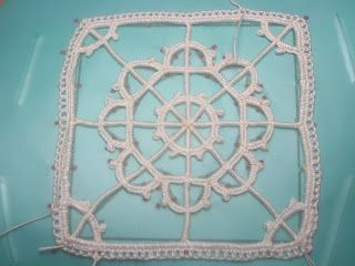 Tutorial: needle lace geometric in 6 parts