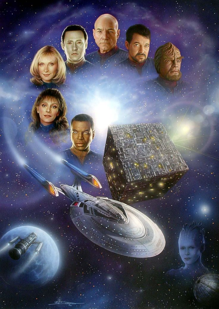 STAR TREK: THE NEXT GENERATION - except Season 2,  I don't count that Season COS THEY REPLACED DR CRUSHER WITH THAT AWFUL PULASKI WOMAN.  I liked Dr Crusher and Geordie.  My fav episode is 'Remember Me'.