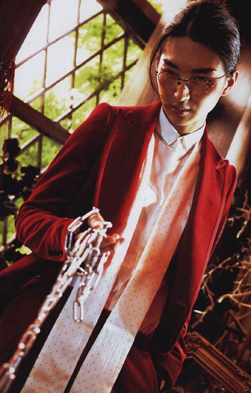 Shota Matsuda【写真】松田翔太「月刊MEN 松田翔太」