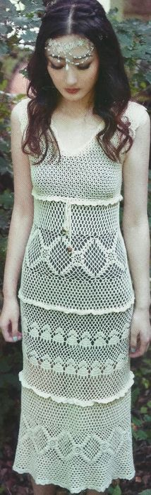 913 Best Crocheted Knitted Dresses Free Patterns Images On