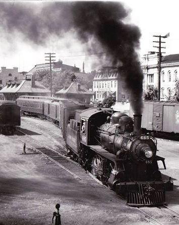 KINGSTON, Ontario - The Kingston & Pembroke passenger train leaves the terminal