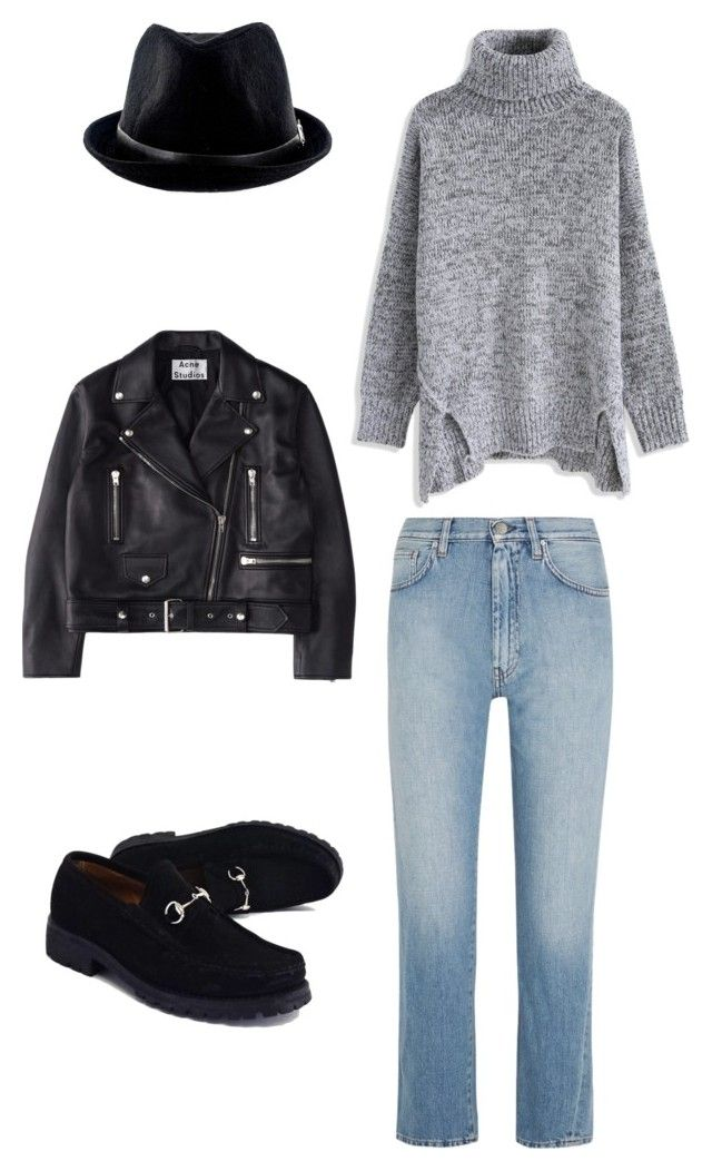 """""""obraz 4"""" by sun-ms on Polyvore featuring мода, Chicwish, Totême, Acne Studios и Gucci"""